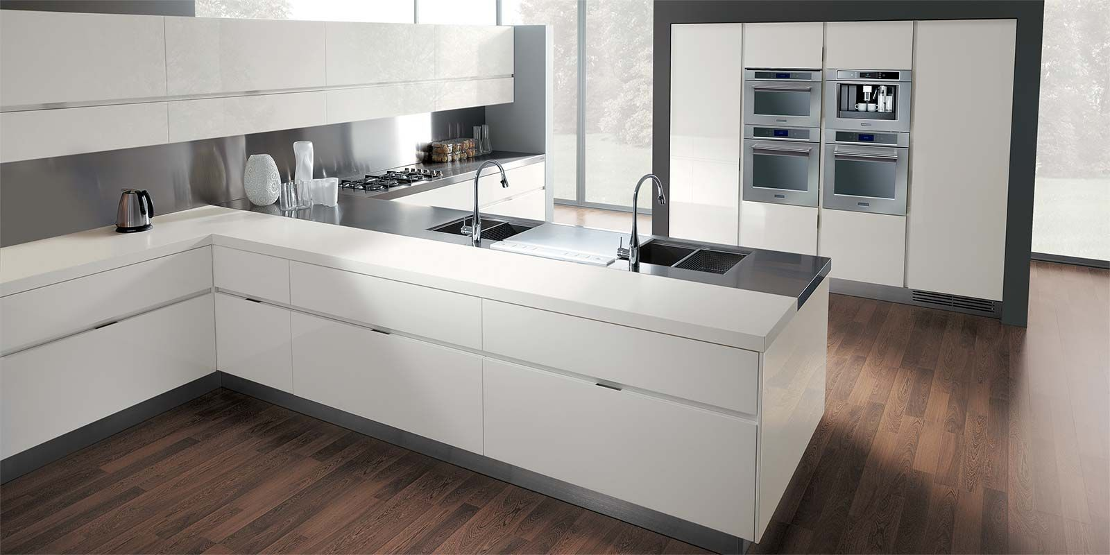 Italian Modern Design Kitchens - Elektra by Ernestomeda ...