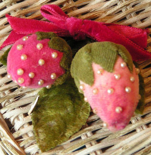 Velvet Strawberries by andrea singarella, via Flickr