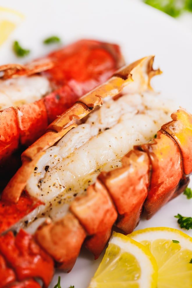 Broiled Lobster Tail images