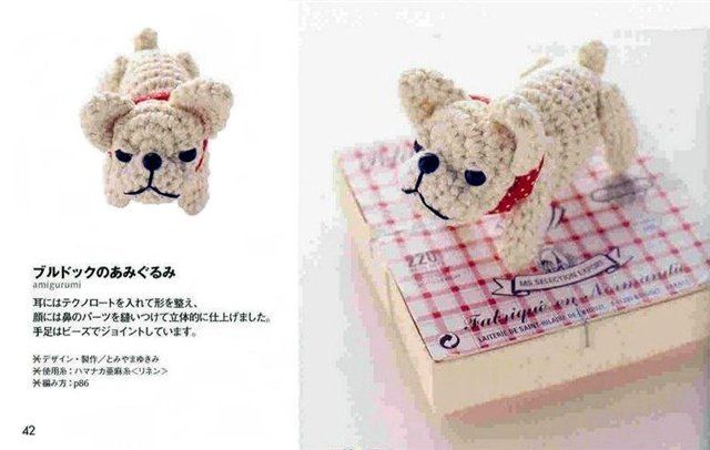 Tutorial Elfi Amigurumi : Free bulldog amigurumi crochet pattern and tutorial use google