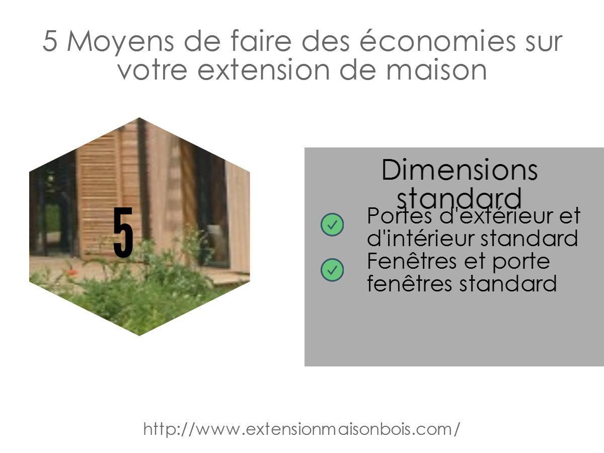 5 Moyens De Faire Des Economies Sur Votre Extension De Maison
