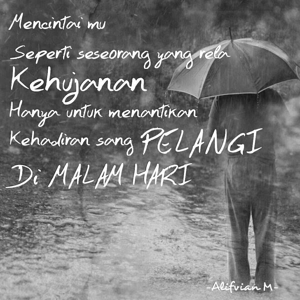 Ketika Inspirasi Bertemu Dengan Cinta Tepat Di Bawah Hujan Pada
