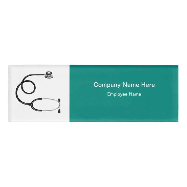 Medical Professional Services Name Tag | Zazzle.com