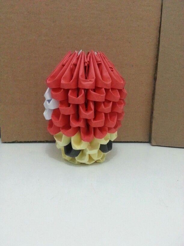 Mario 3d Origami Shisams Origami Pinterest 3d Origami