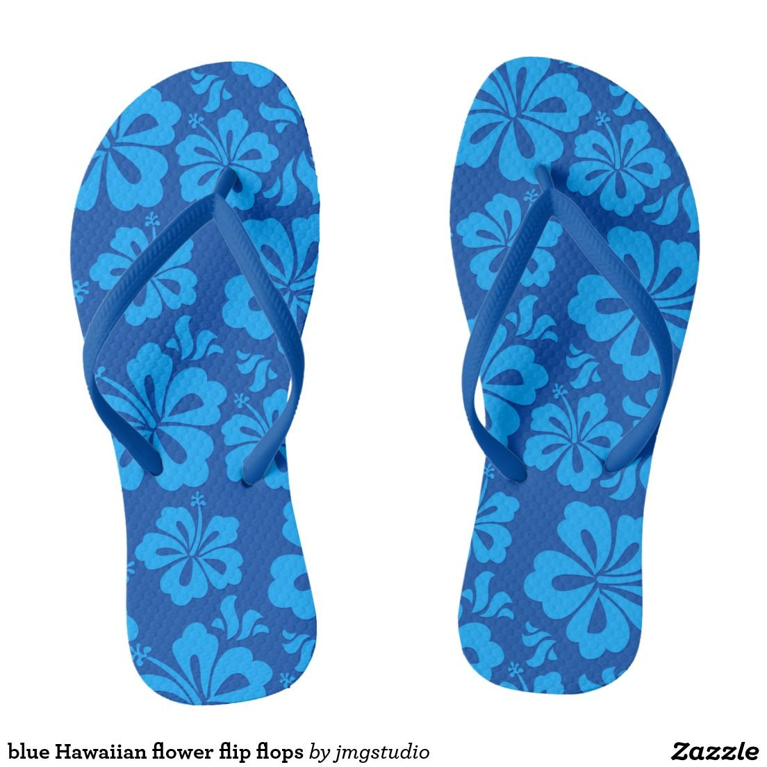 Blue hawaiian flower flip flops blue hawaiian hawaiian flowers blue hawaiian flower flip flops izmirmasajfo