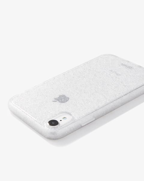 Silver Glitter, iPhone XR