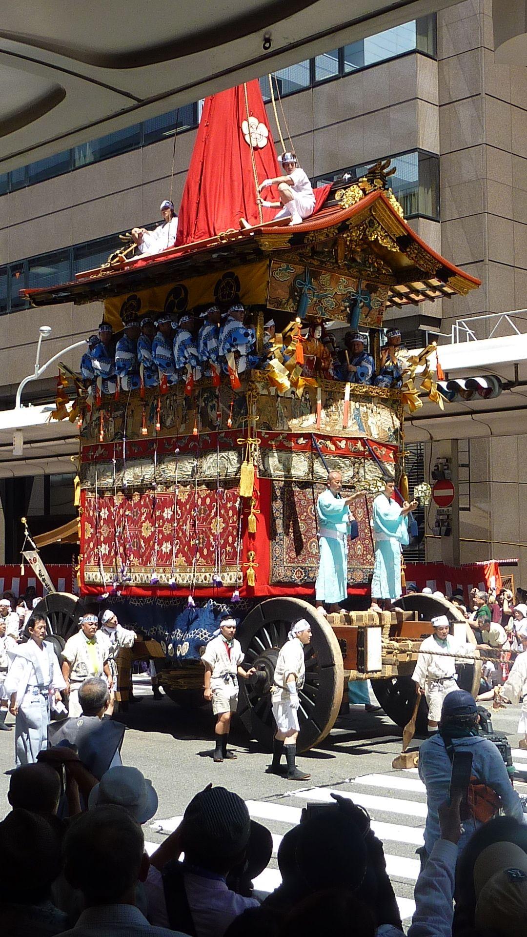 Gion Festival in Kyoto, Japan  鶏鉾