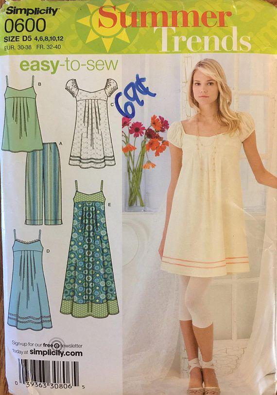 OOP 0600 Simplicity (2007). Summer Trends. Dress In 3