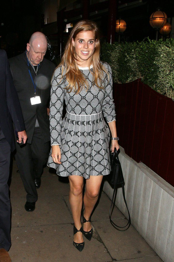 Princess Beatrice Is Still Wearing the Same Pair of Black
