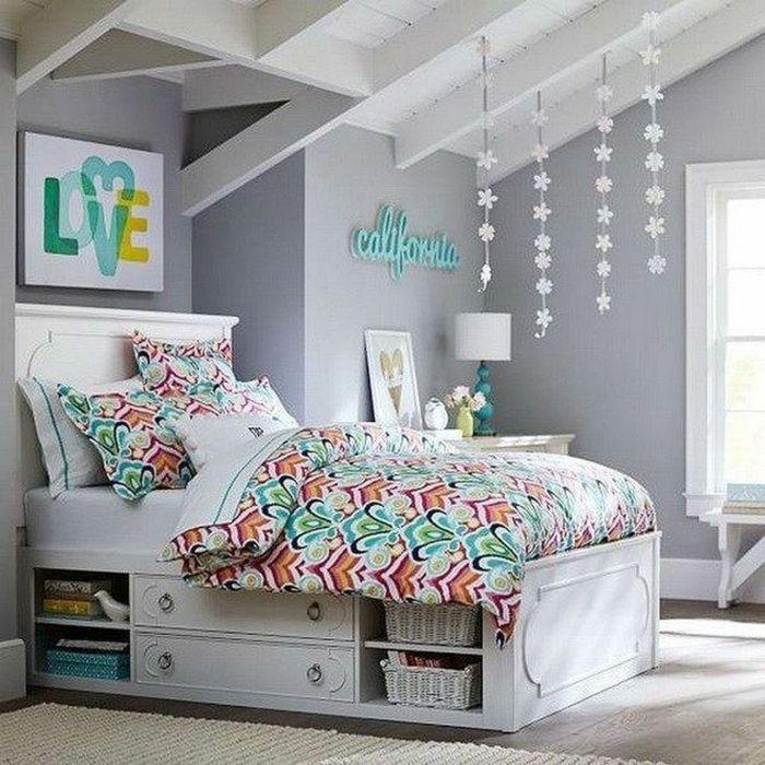 Chambre fille ado : 30+ idées de design magnifique | *** Chambre ...