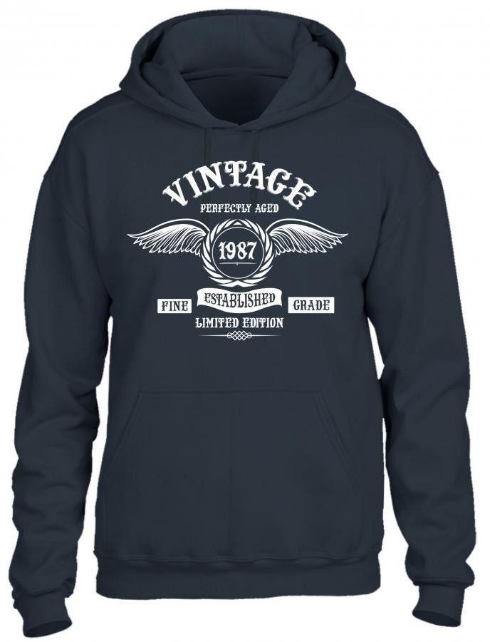Vintage Perfectly Aged 1987 Hoodie