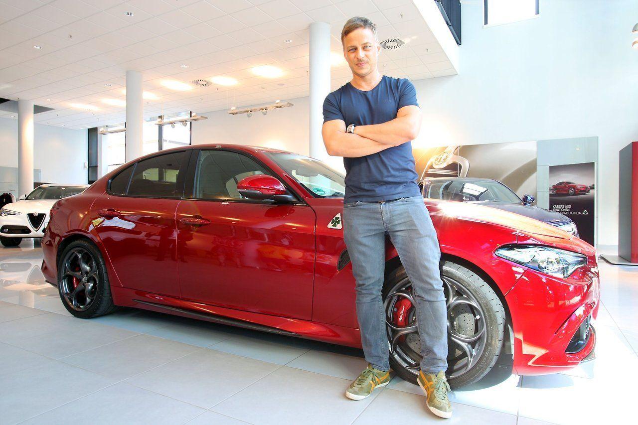 Alfa Romeo Giulia Quadrifoglio Is Now Available To The German Film Star And Avowed Alfa Romeo Fan Tom Wlaschiha For Everyday Life W Tom Wlaschiha Toms New Bmw