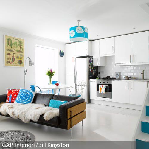 offene k che mit wohnbereich k che pinterest kuchen offene k che und wohnbereich. Black Bedroom Furniture Sets. Home Design Ideas