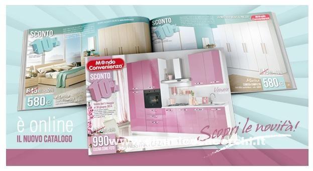Mondo Convenienza, catalogo estate Catalogo e Estate