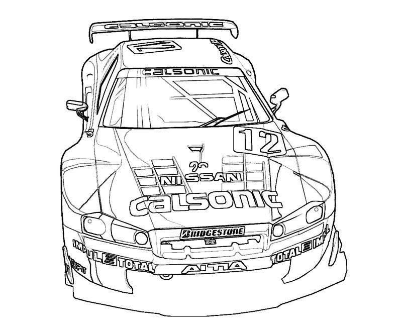14 Pics of Fast And Furious Muscle Cars Coloring Pages