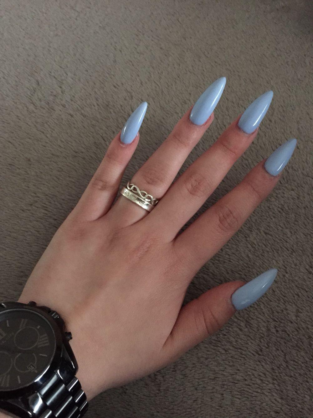 Pin by tati cardoso on Nails | Pinterest | Nuggwifee, Baby blue ...