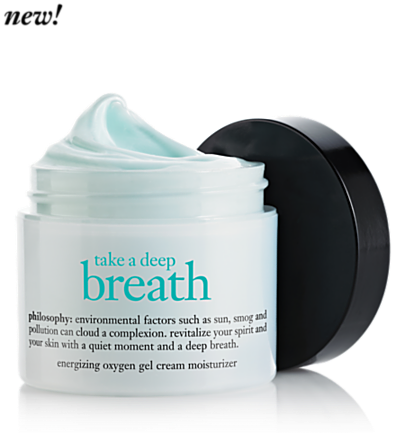 philosophy take a deep breath moisturizer
