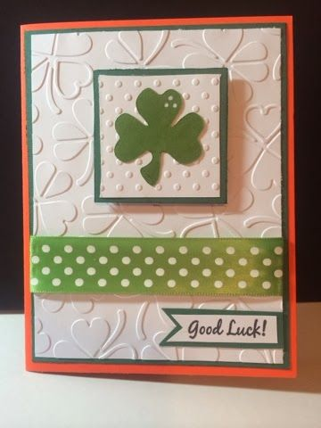 Cricut Chirp: St. Patrick's Day cards