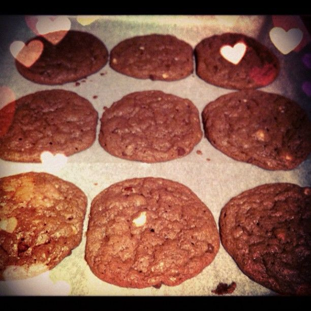 Homemade Nutella cookies i made two weeks ago