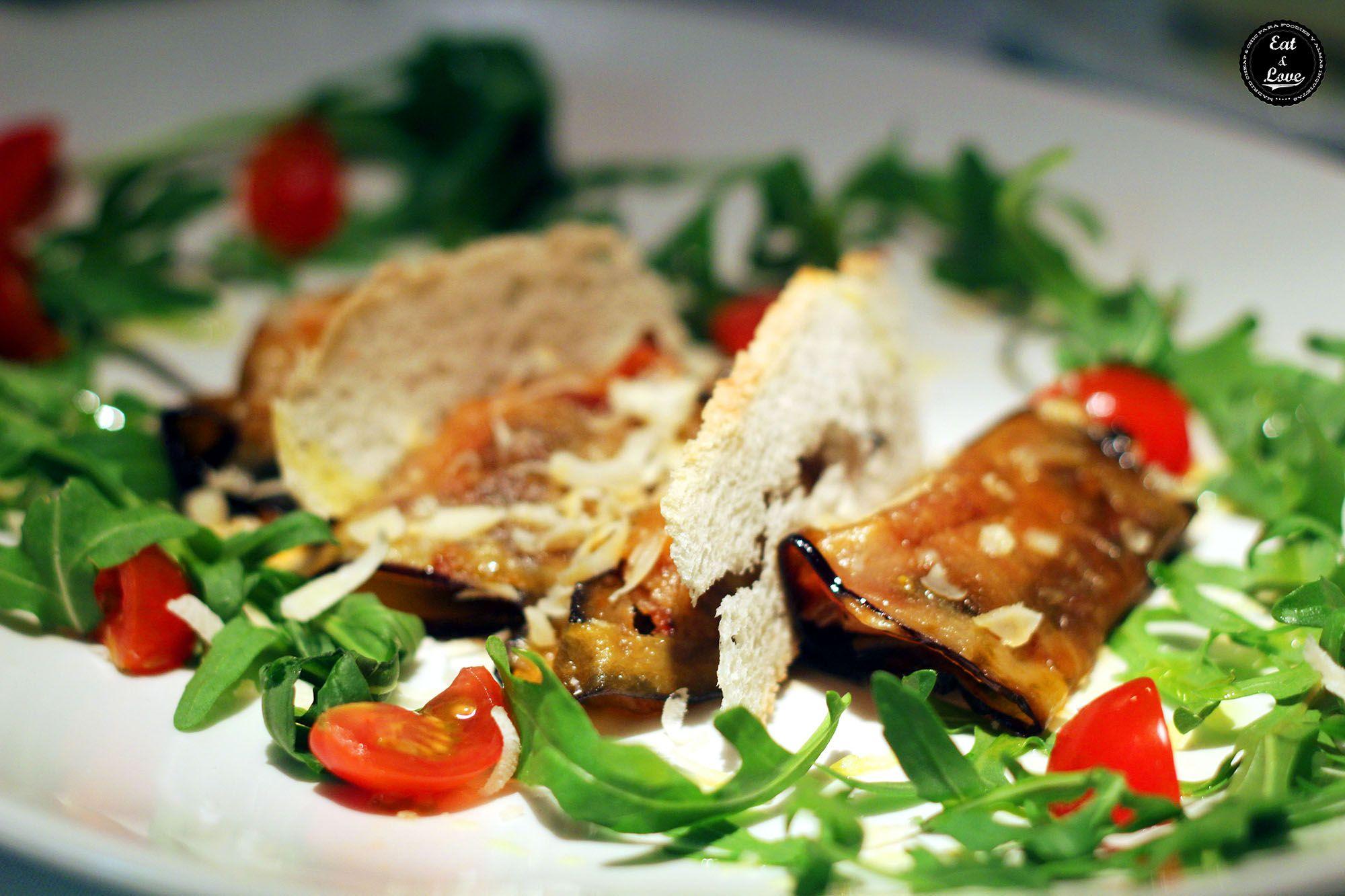 Parmigiana de Berenjena - restaurante italiano Gioia Madrid