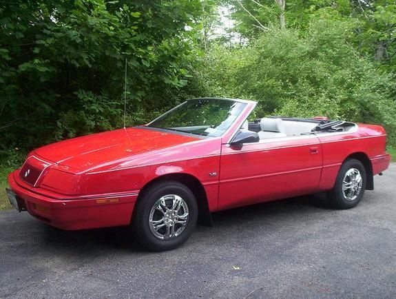 My First Convertible Was A 1992 Chrysler Le Baron In Red