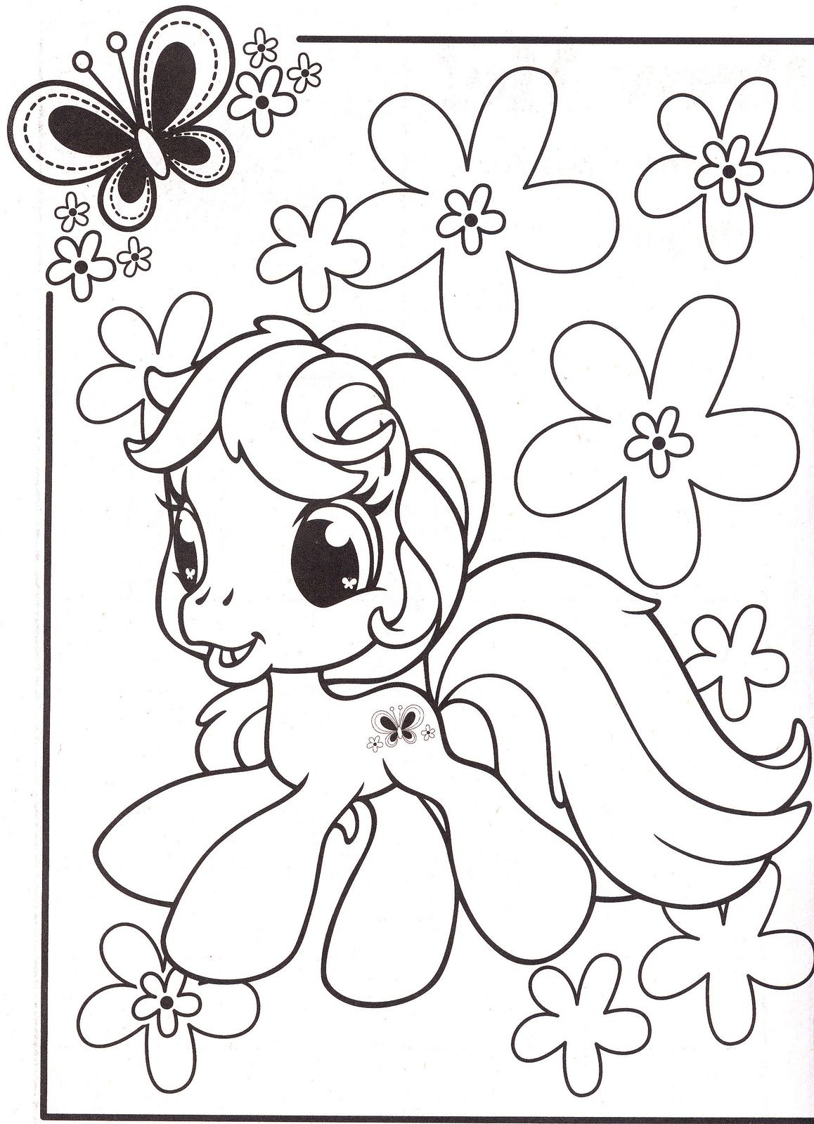 My Little Pony Coloring Pages 46 Ausmalbilder Ausmalbilder Kinder