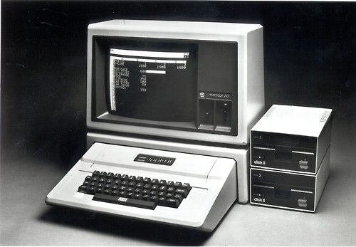 The Apple II Plus was sold from 1979 to 1982.
