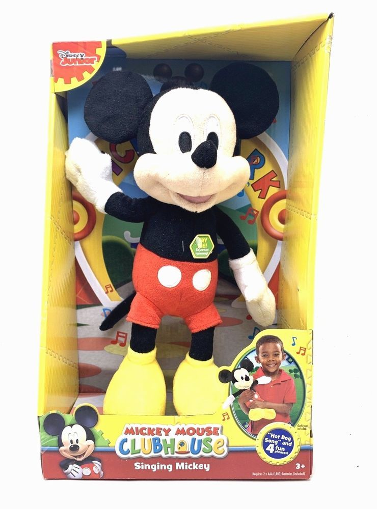 Singing Mickey Plays The Popular Hot Dog Song As Well As 4 Other