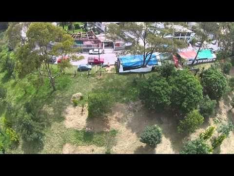 Video Dron Lago de Guadalupe Cuautitlán Izcalli México desde el cielo (c...