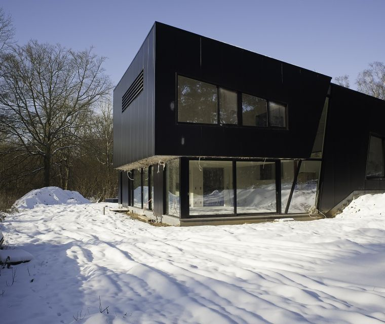 Maison SG-1 Le Week-end Maison  Architectes en Belgique, les 11 - Maison Toit Plat Prix Au M