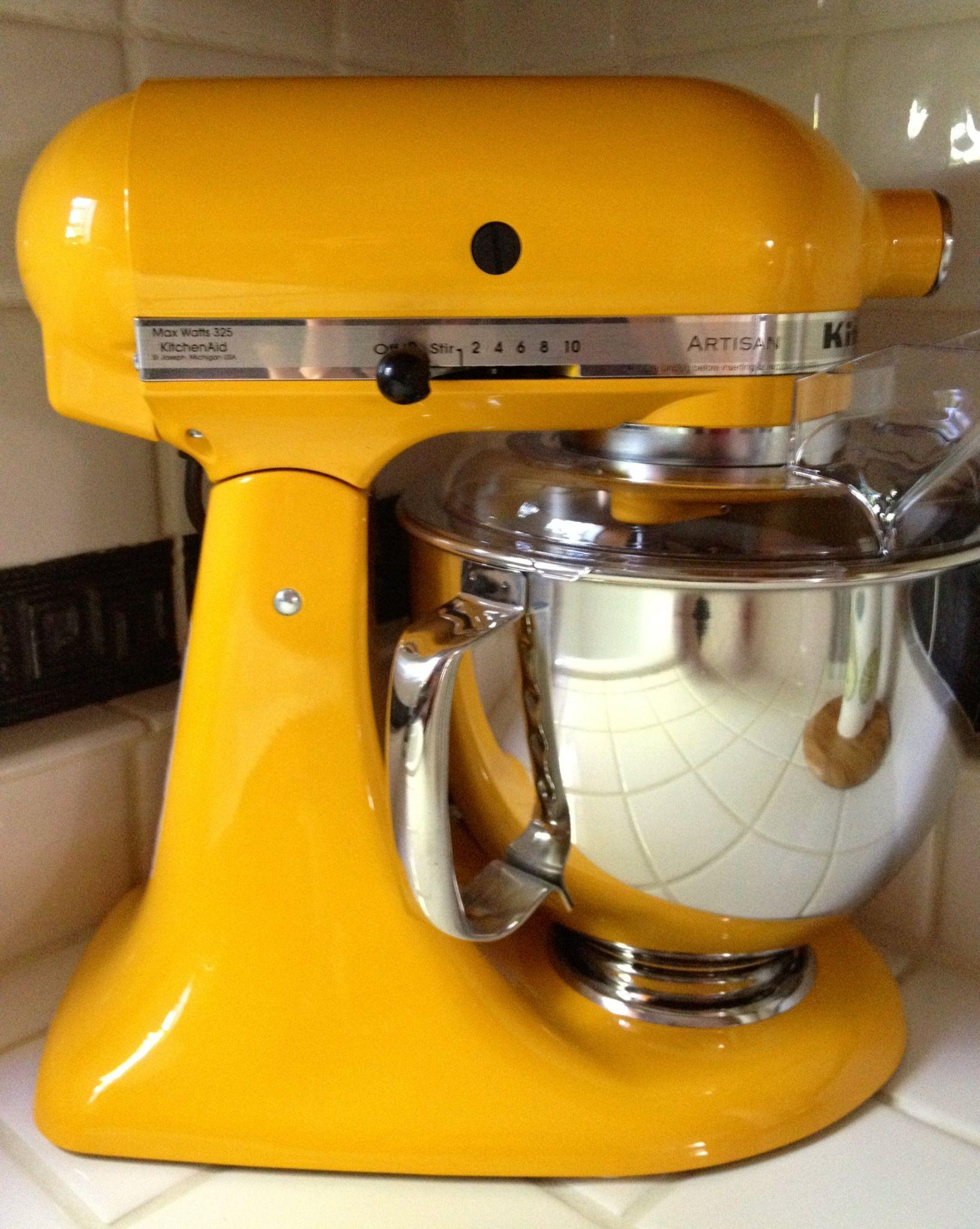 yellow pepper kitchenaid mixer kitchen bling pinterest