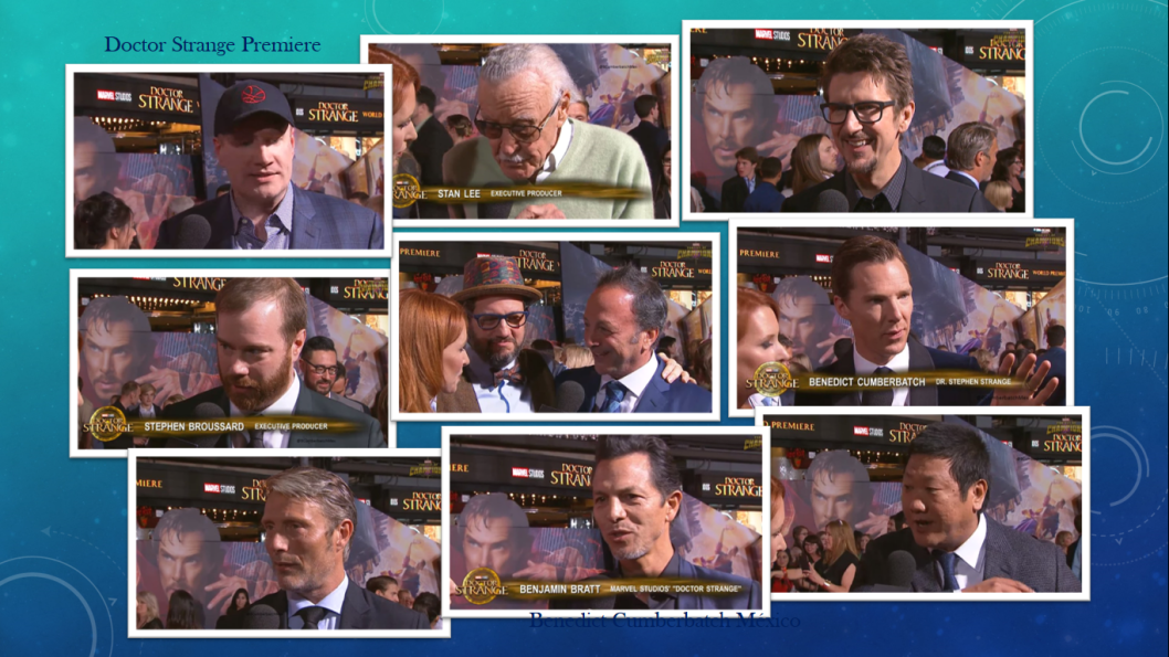 Una gran parte de la familia Marvel se reunió esta tarde en Los Ángeles para dar la bienvenida a Doctor Strange y a Benedict Cumberbatch como la nueva estrella del Universo Cinemático de Marvel. Pu…