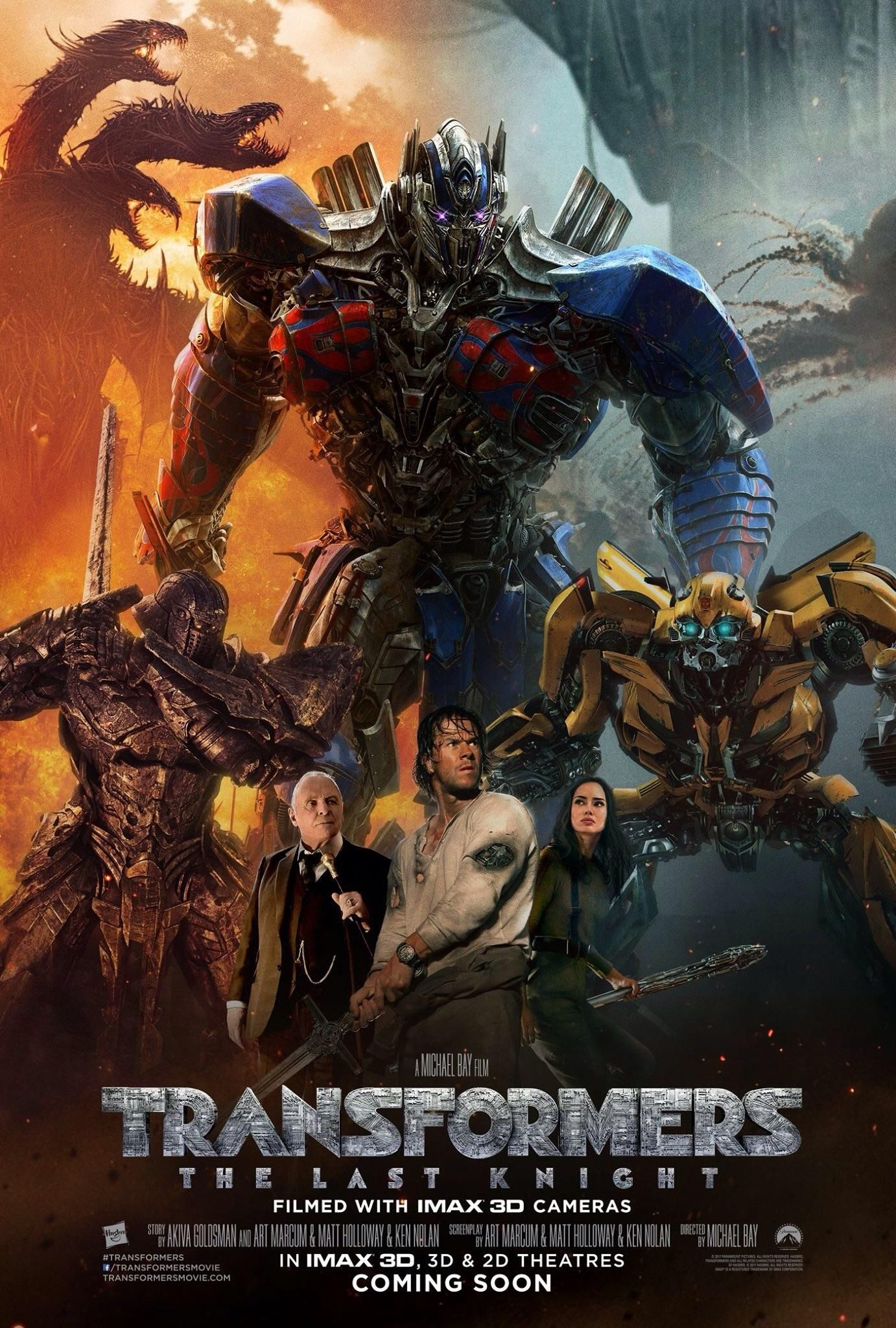 Latest Poster For Transformers The Last Knight If The Movie Is As Bad As This Poster We Are More Doomed Tha Transformers 5 Pelicula Transformers Transformers