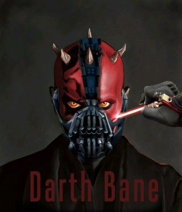 Darth Maul + Bane