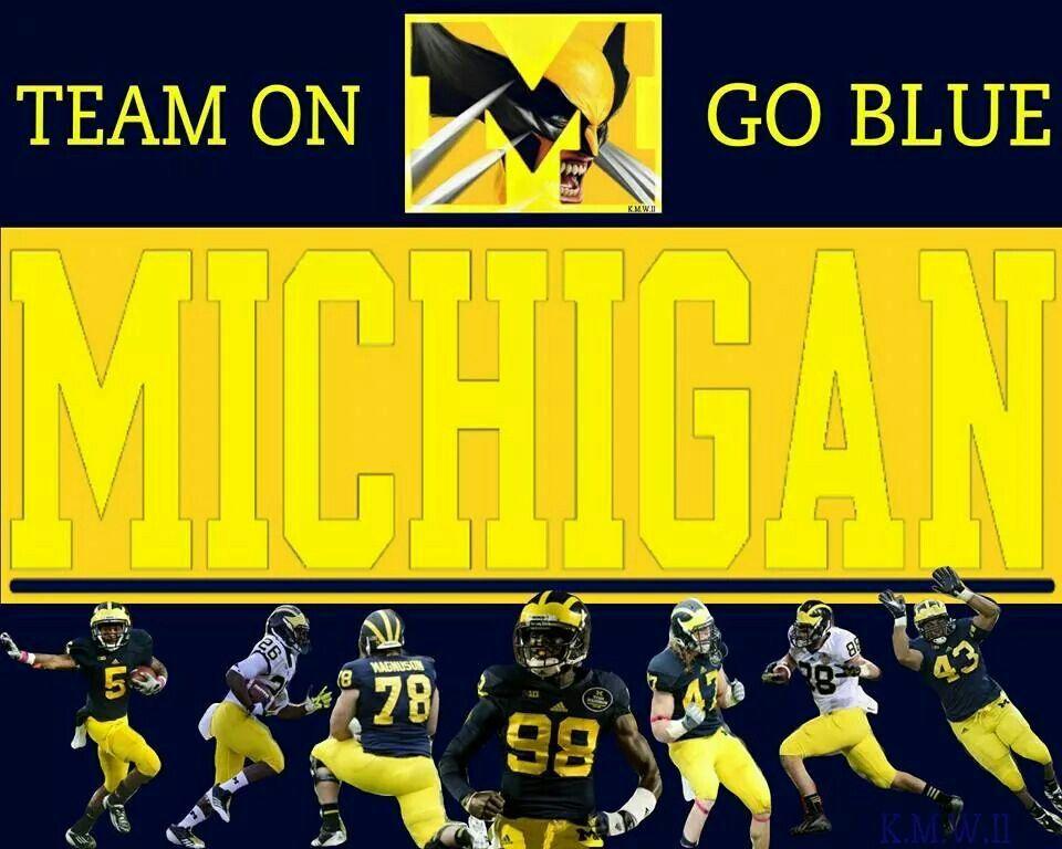 Team On... GO BLUE! Michigan go blue, Go blue, Michigan