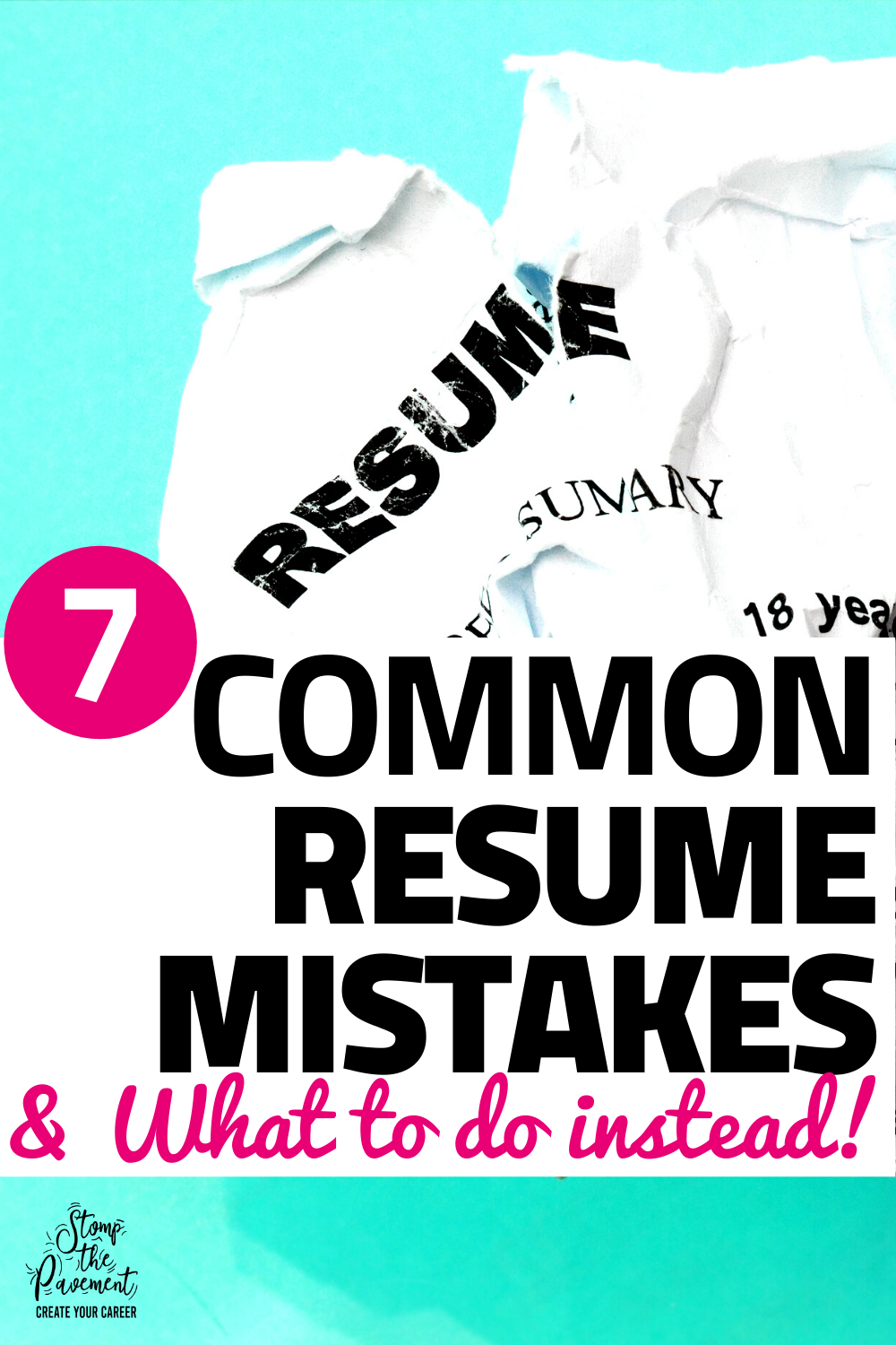 The Most Common Resume Mistakes And How To Fix Them Modern Career Advice In 2020 How To Memorize Things Career Advice Cover Letter For Resume