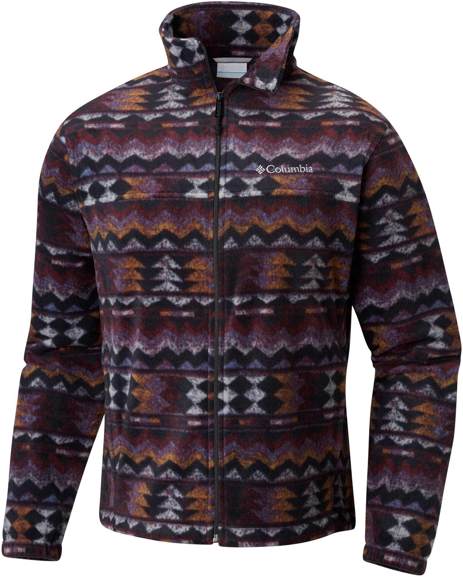 5ac56578d Columbia Men's Steens Mountain Print Fleece Jacket, Size: Small ...