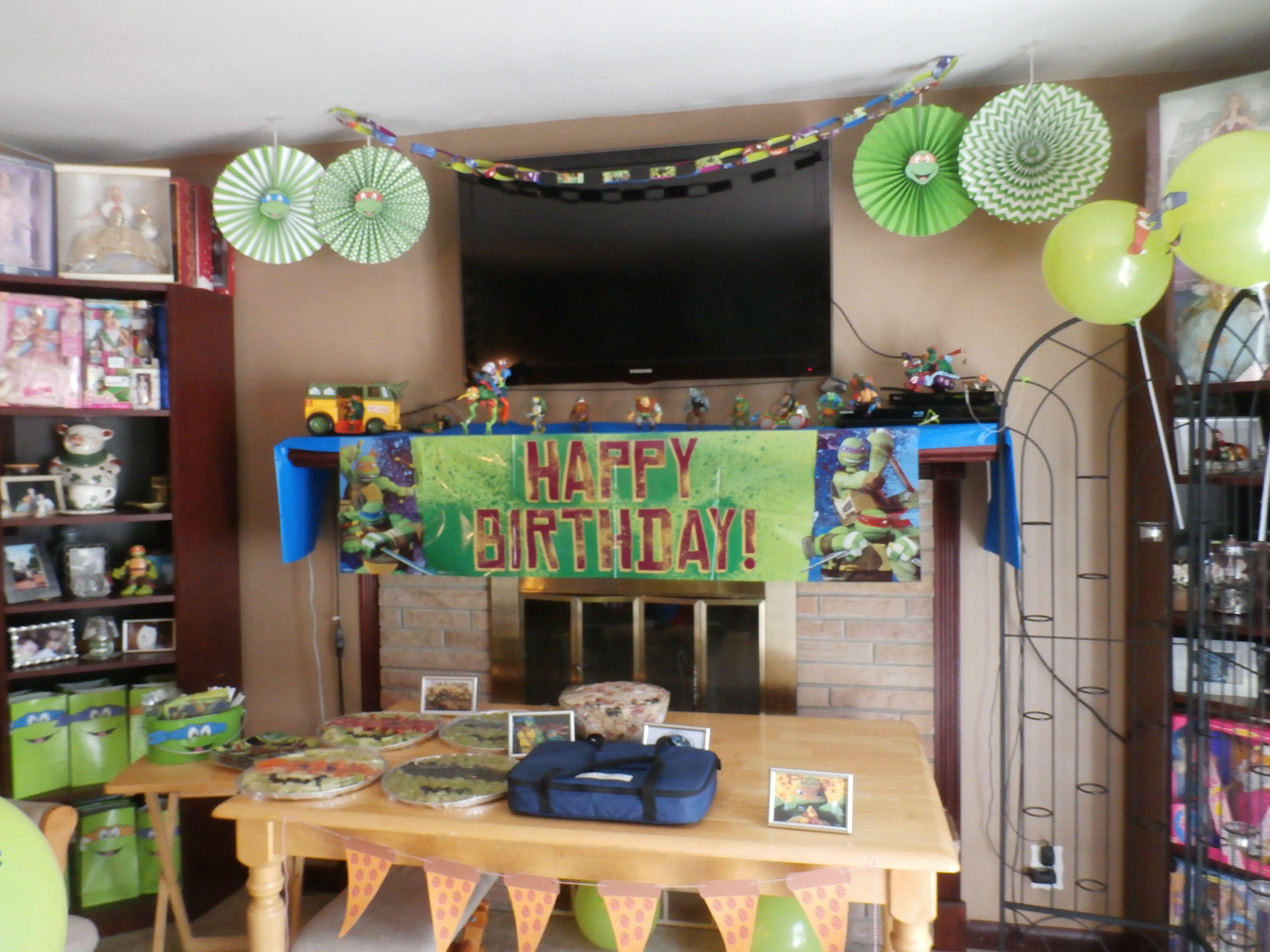 Ninja Turtle Decoration Ideas Fresh Ninja Turtle Birthday