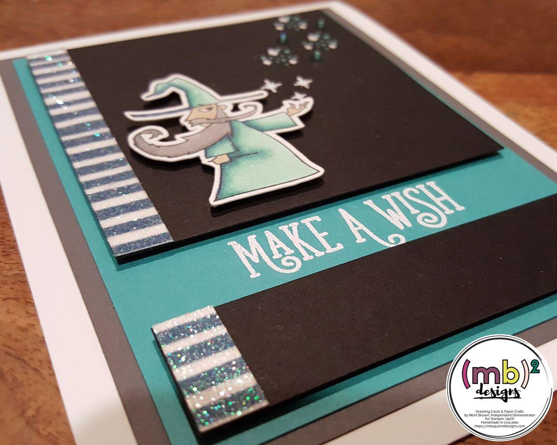 make a wish card swap featuring magical day  learn magic
