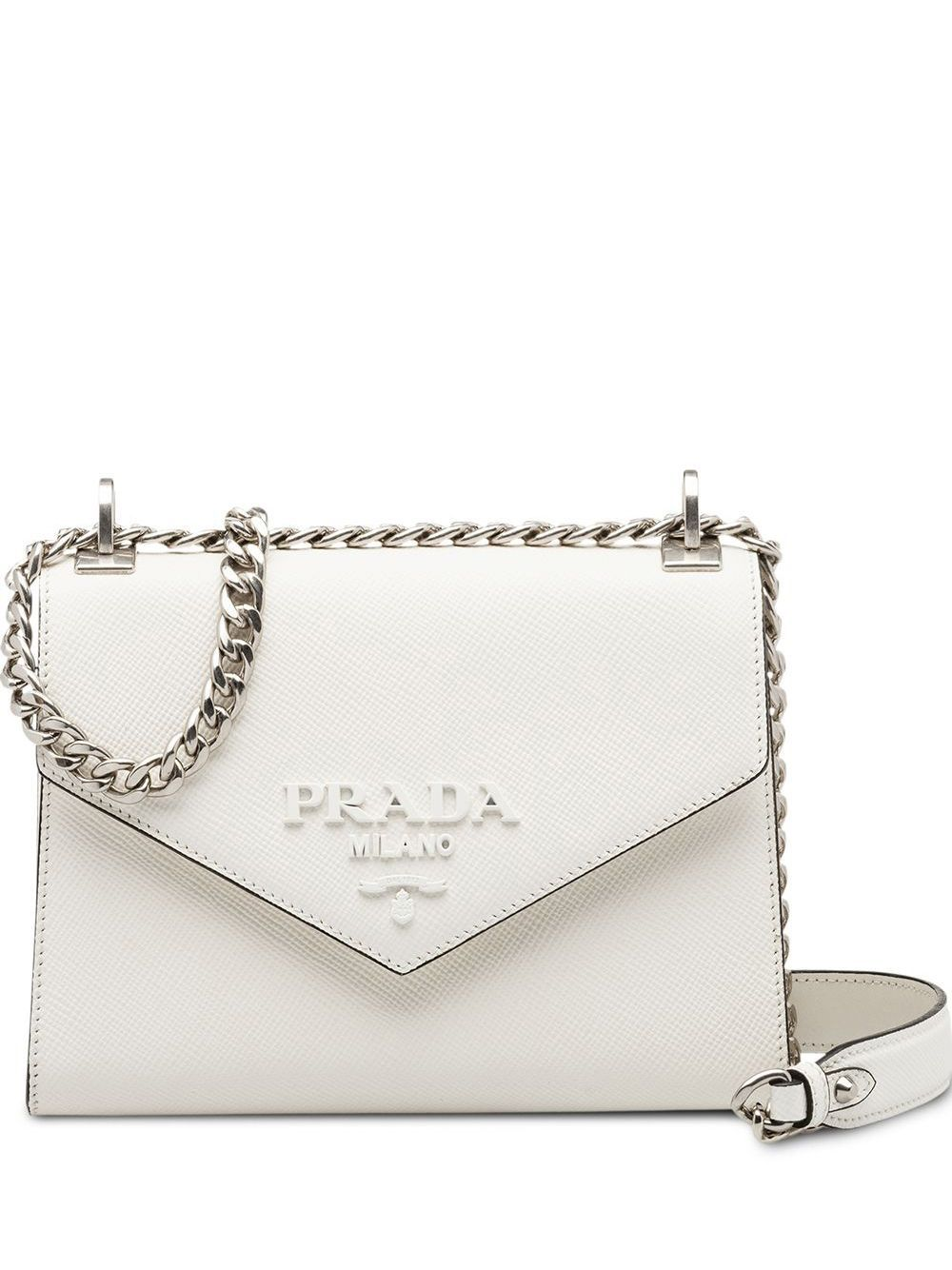 Photo of Prada Prada Monochrome Saffiano Leather Bag – Farfetch