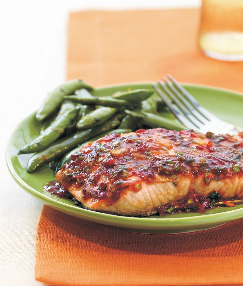 Chili-Garlic Glazed Salmon | MyFitnessPal