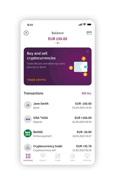 Change Skrill Currency