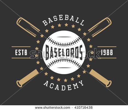 Vintage Baseball Logo Emblem Badge And Design Elements Vector Illustration Badge Design Emblem Logo Vintage Baseball