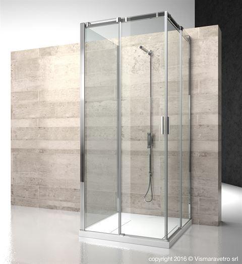 Ca Ca Cg Serie 8000 Shower Enclosures Models Sliding Door By Vismaravetro Glass Shower Enclosures Shower Enclosure Shower Cubicles