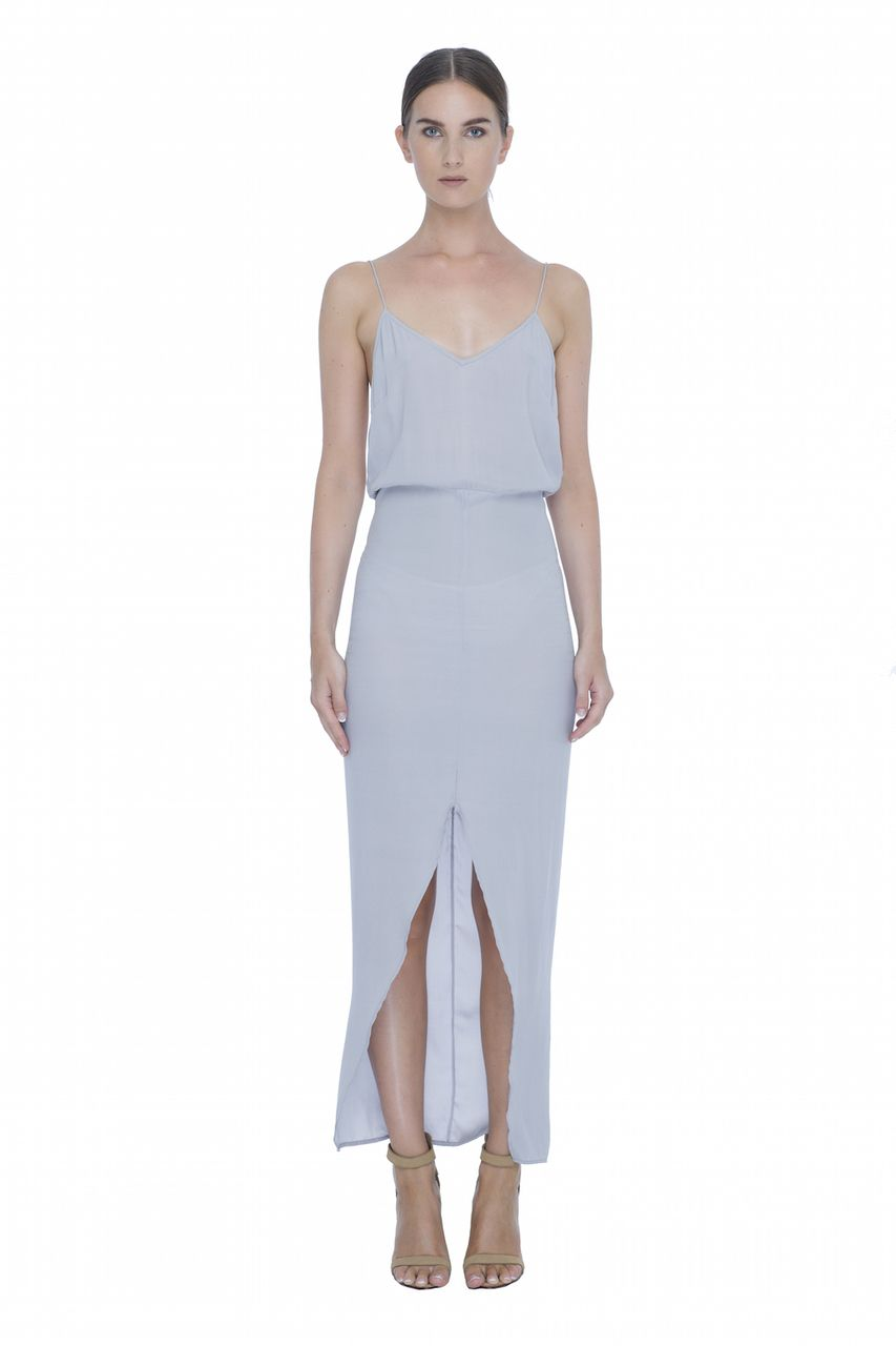 1a9f891cb62b8 Last Tango Dress - Metal Grey - Magali Pascal