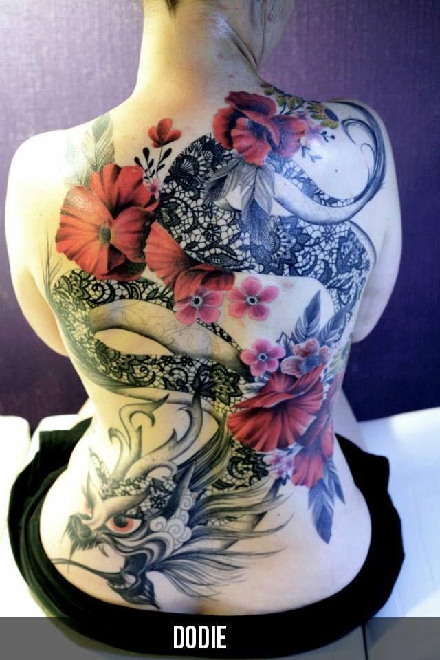 Voici Un Tatouage Dragon Japonais A La Signification Particuliere
