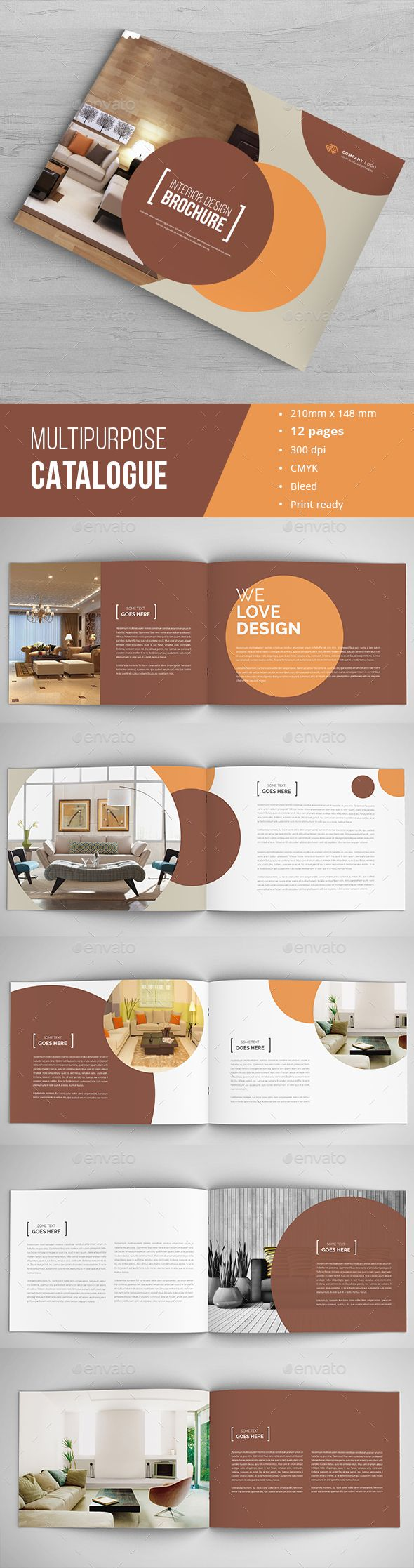 Interior Design Brochure Brochure Design Catalog Design Layout