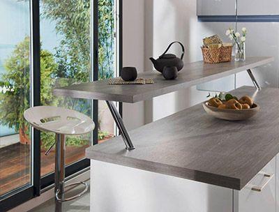 Une cuisine de style avec des astuces rangement Consoles