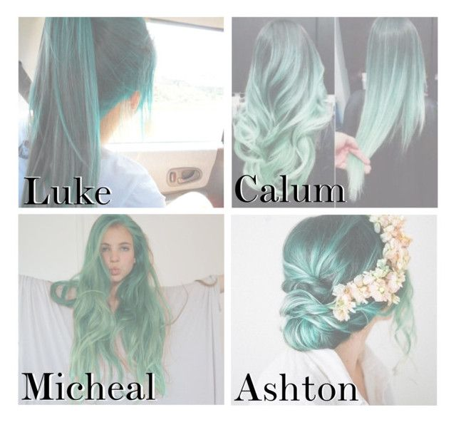 """Green hair"" by lucas-stylesh ❤ liked on Polyvore featuring Retrò"