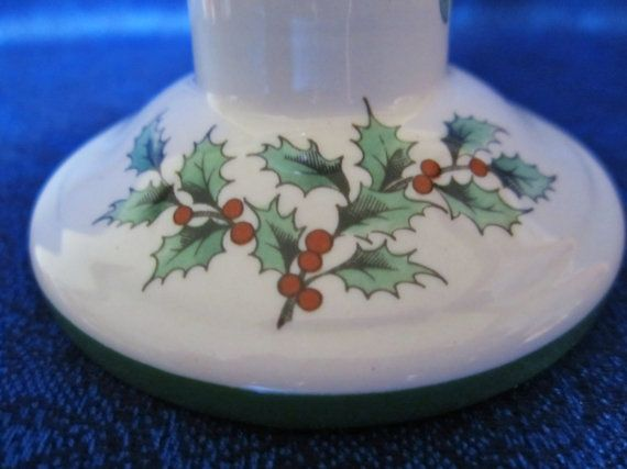 Vintage Candle Holder-English made by by NowAndThenConnection